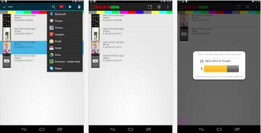 Aplikasi Perekam Layar Android Terbaru 2015