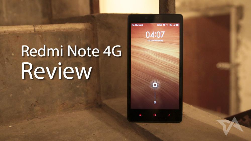 Spesifikasi dan Harga Xiaomi Redmi Note 4G - 8GB
