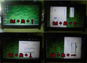 Cara Mengembalikan Layar Monitor Laptop dan Komputer Yang Terbalik