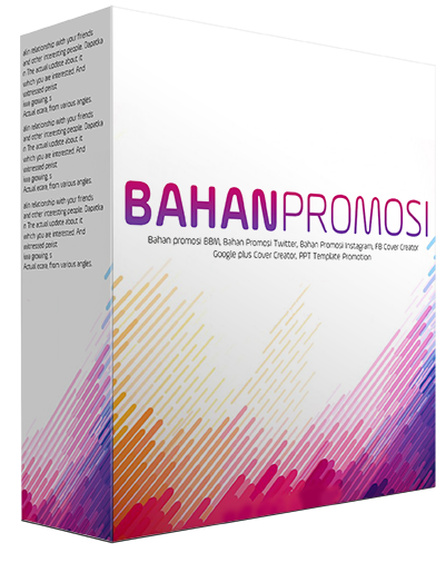 BahanPromosi.net, Mahir Desain Promosi Produk Tanpa Skill Photoshop