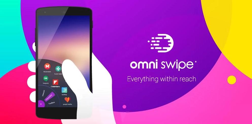 Omni Swipe, Aplikasi Yang Mempermudah Navigasi Smartphone Kamu