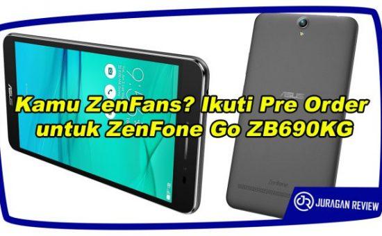 Kamu ZenFans? Ikuti Pre Order untuk ZenFone Go ZB690KG