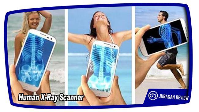 Aplikasi Kamera Tembus Pandang Human X-Ray Scanner
