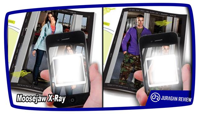 Aplikasi Kamera Tembus Pandang Moosejaw X-Ray