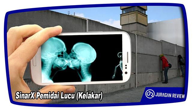 Aplikasi Kamera Tembus Pandang SinarX Pemidai Lucu (Kelakar)