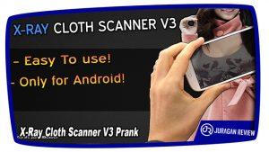 Aplikasi Kamera Tembus Pandang X-Ray Cloth Scanner V3 Prank