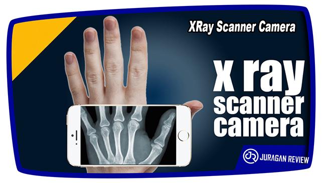 Aplikasi Kamera Tembus Pandang XRay Scanner Camera