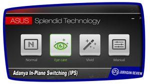 Adanya In-Plane Switching (IPS) - ASUS ROG GX800