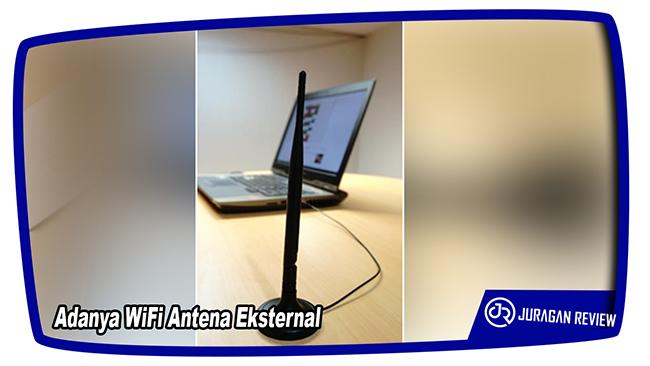 Adanya WiFi Antena Eksternal - ASUS ROG GX800