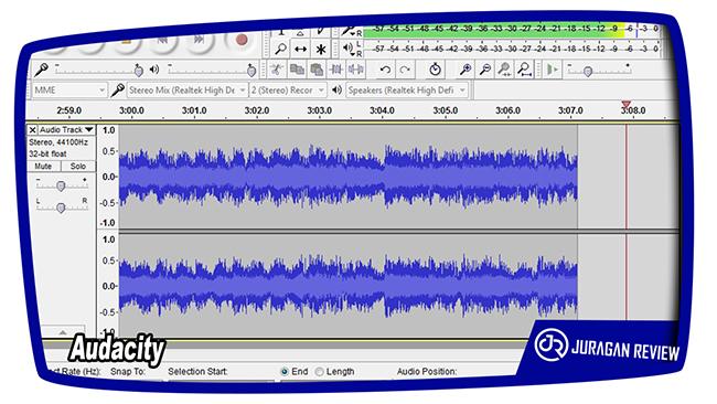 Aplikasi Perekam Suara (Audio) Untuk PC