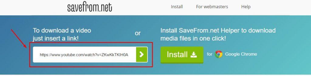 Cara Download Video Youtube Menggunakan SaveFrom.net