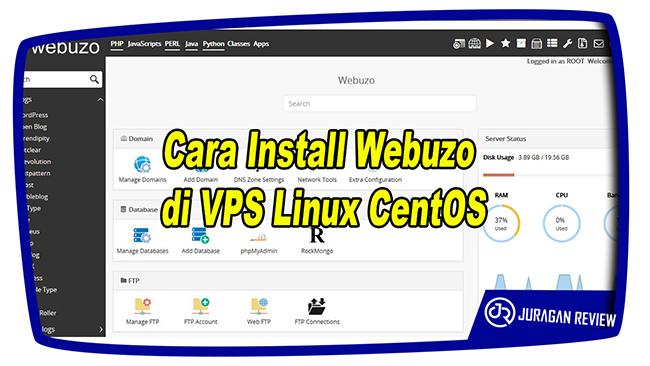 Cara Install Webuzo di VPS Linux CentOS