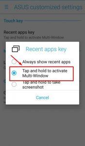 Cara Menampilkan Multi-Window Pada ASUS Zenfone 3