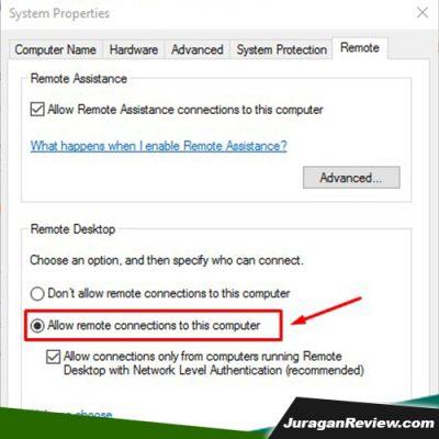 Cara Mengaktifkan Remote Dekstop Pada Windows 10 001