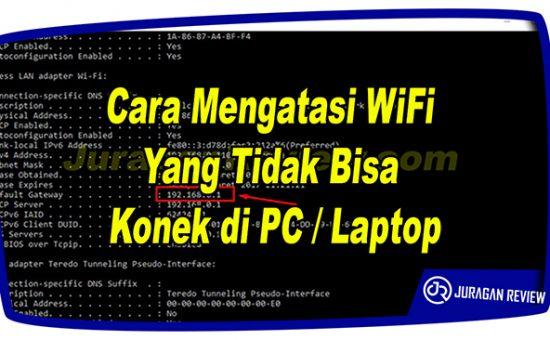 Cara Mengatasi WiFi Yang Tidak Bisa Konek Hotspot di PC