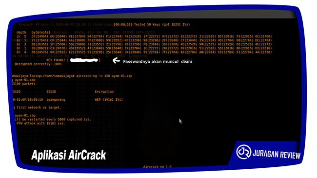 Cara Mengetahui Password WiFi Menggunakan Komputer dan Aplikasi AirCrack