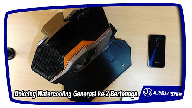 Dokcing Watercooling Generasi ke-2 Bertenaga - ASUS ROG GX800