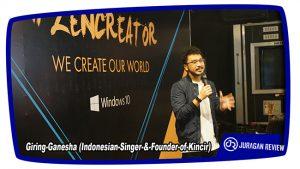 Giring-Ganesha (Indonesian-Singer-&-Founder-of-Kincir)