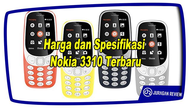 Harga dan Spesifikasi Nokia 3310 Terbaru