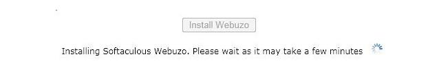 Install Webuzo di VPS