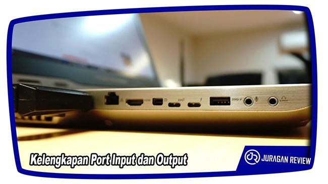 Kelengkapan Port Input dan Output - ASUS ROG GX800