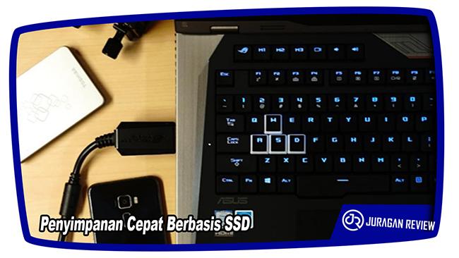 Penyimpanan Cepat Berbasis SSD - ASUS ROG GX800