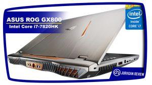 Prosesor Intel Core i7-7820HK - ASUS ROG GX800