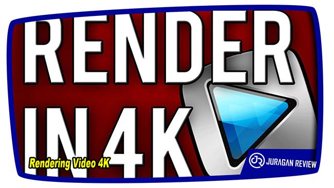 Rendering Video 4K