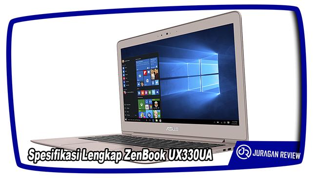 Spesifikasi Lengkap ASUS ZenBook UX330UA