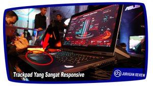 Trackpad Yang Sangat Responsive - ASUS ROG GX800