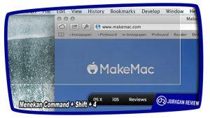 Cara Screenshot di MAC OS