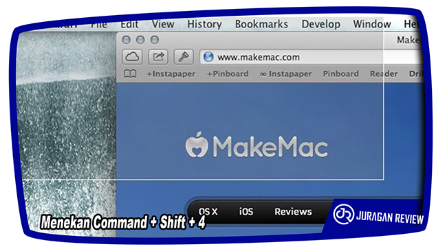 Cara Screenshot di MAC OS