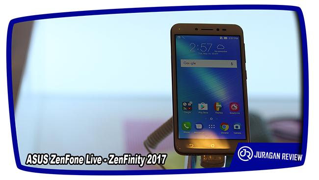 ASUS ZenFone Live - ZenFinity 2017