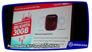 Promo Ramadhan Mi-Fi Top-up Only for EVO Plan