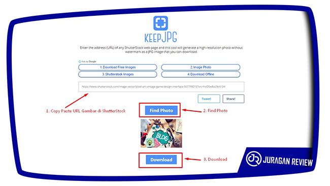 Cara Download Gambar di ShutterStock Gratis
