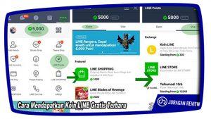 Cara Mendapatkan Koin LINE Gratis Terbaru