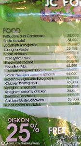 JC Forest Cafe & Resto