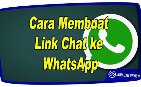 Cara Membuat Link Chat ke WhatsApp