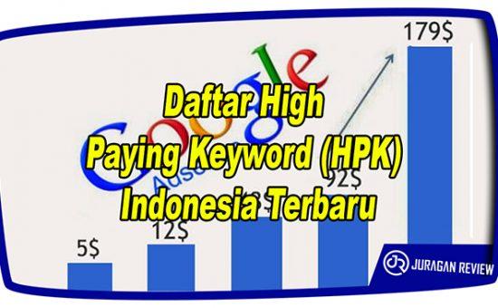 Daftar High Paying Keyword (HPK) Indonesia