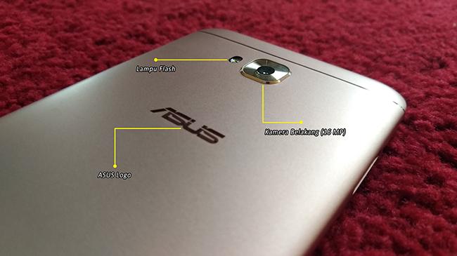 Bagian Belakang ASUS ZenFone 4 Selfie