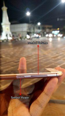 Bagian Kanan ASUS ZenFone 4 Selfie
