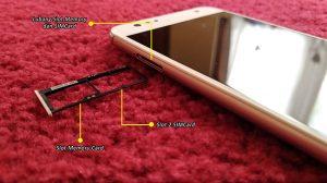 Bagian Kiri ASUS ZenFone 4 Selfie