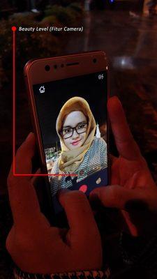 Fitur Camera (Selfie Master)