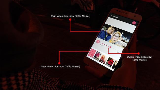 Fitur Slideshow (Selfie Master)