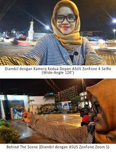 Kamera Kedua Depan ASUS ZenFone 4 Selfie
