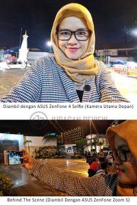Kamera Utama Depan ASUS ZenFone 4 Selfie