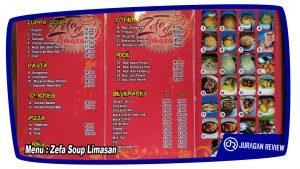 Menu : Zeffa Soup Limasan