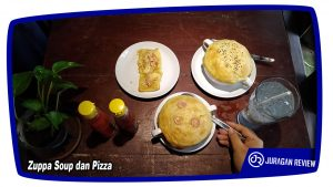 Zuppa Soup dan Pizza