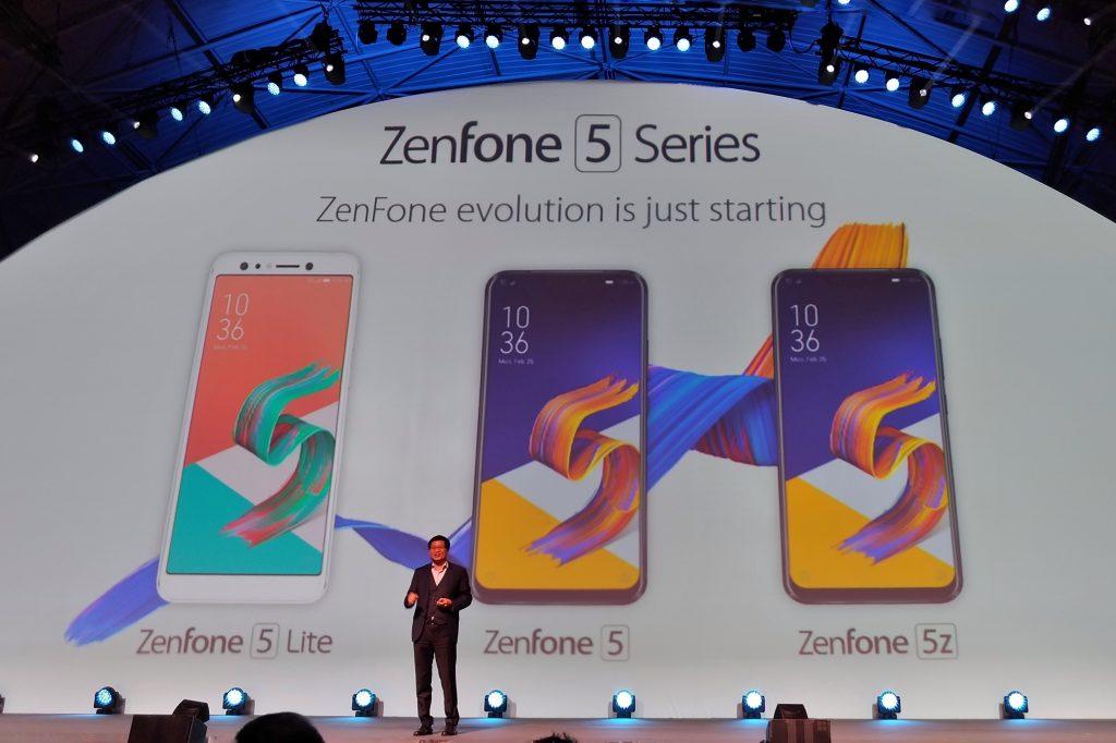 Jerry Shen, ASUS CEO, Perkenalkan Zenfone Generasi ke-5 di MWC