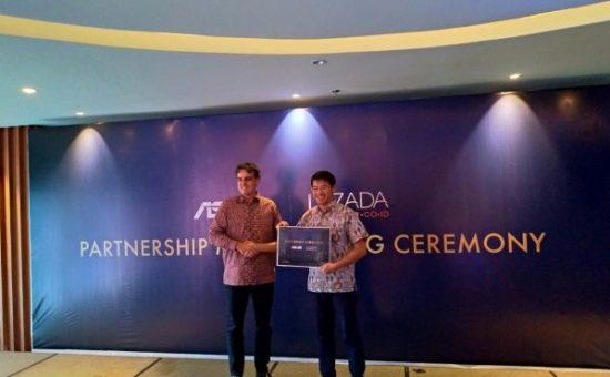 Partnership MoU Signing ASUS & Lazada